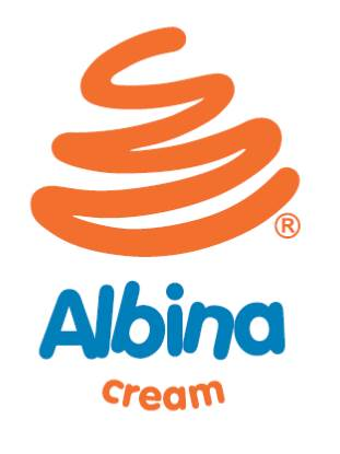 logo Albina Cream